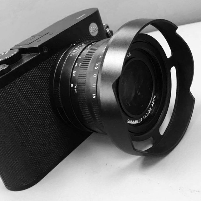 Ventilated Lens Shade for the Leica Q