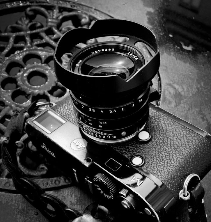 Ventilated Lens shade for the Leica 35mm Summilux-M ASPH f 1 4 FLE