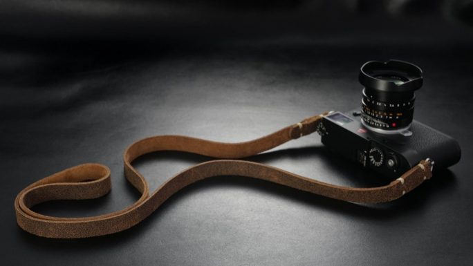 Nevada, Leather Camera Strap