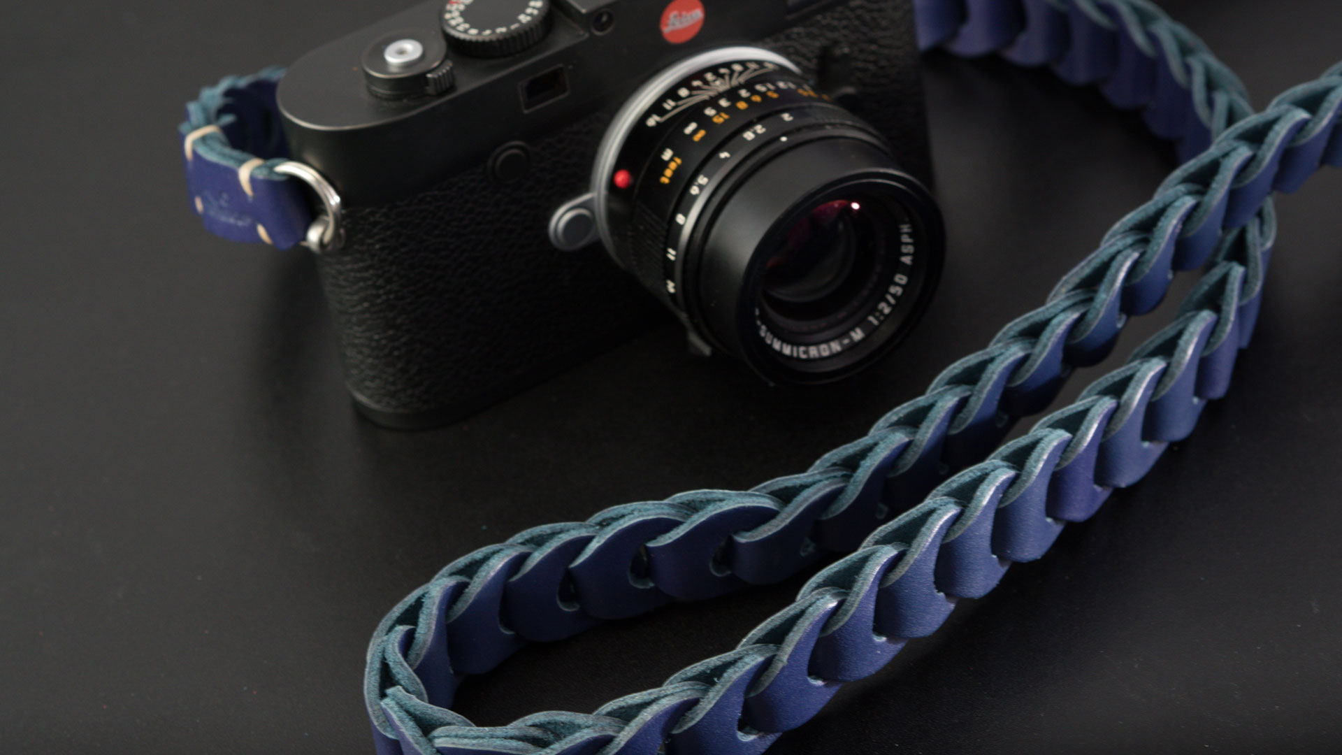 leica m strap, leather camera strap, handmade leather camera strap, vintage camera straps, leica camera strap, handmade camera strap, blue camera strap, mirrorless camera strap