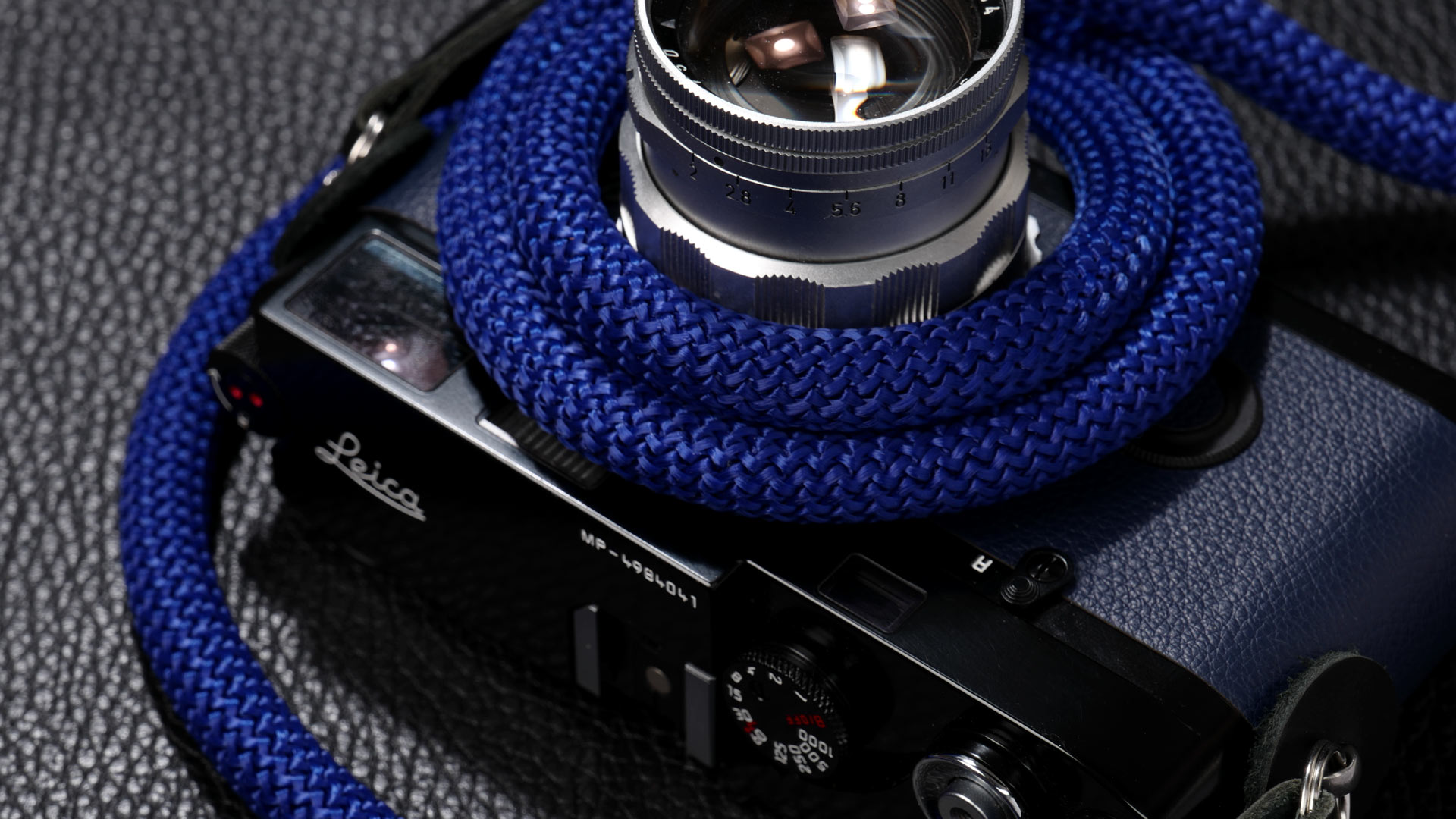 snake strap, rope strap, classic strap, rope camera strap, handmade leather camera strap, leica camera strap, mirrorless camera strap, handmade camera strap, dslr camera strap, blue camera strap
