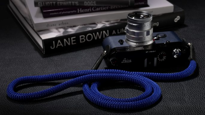 Snake Asian Blue, Rope Camera Strap