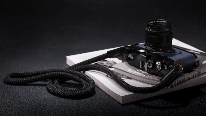 Snake Black, Rope Camera Strap