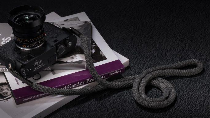 Snake Grey, Rope Camera Strap