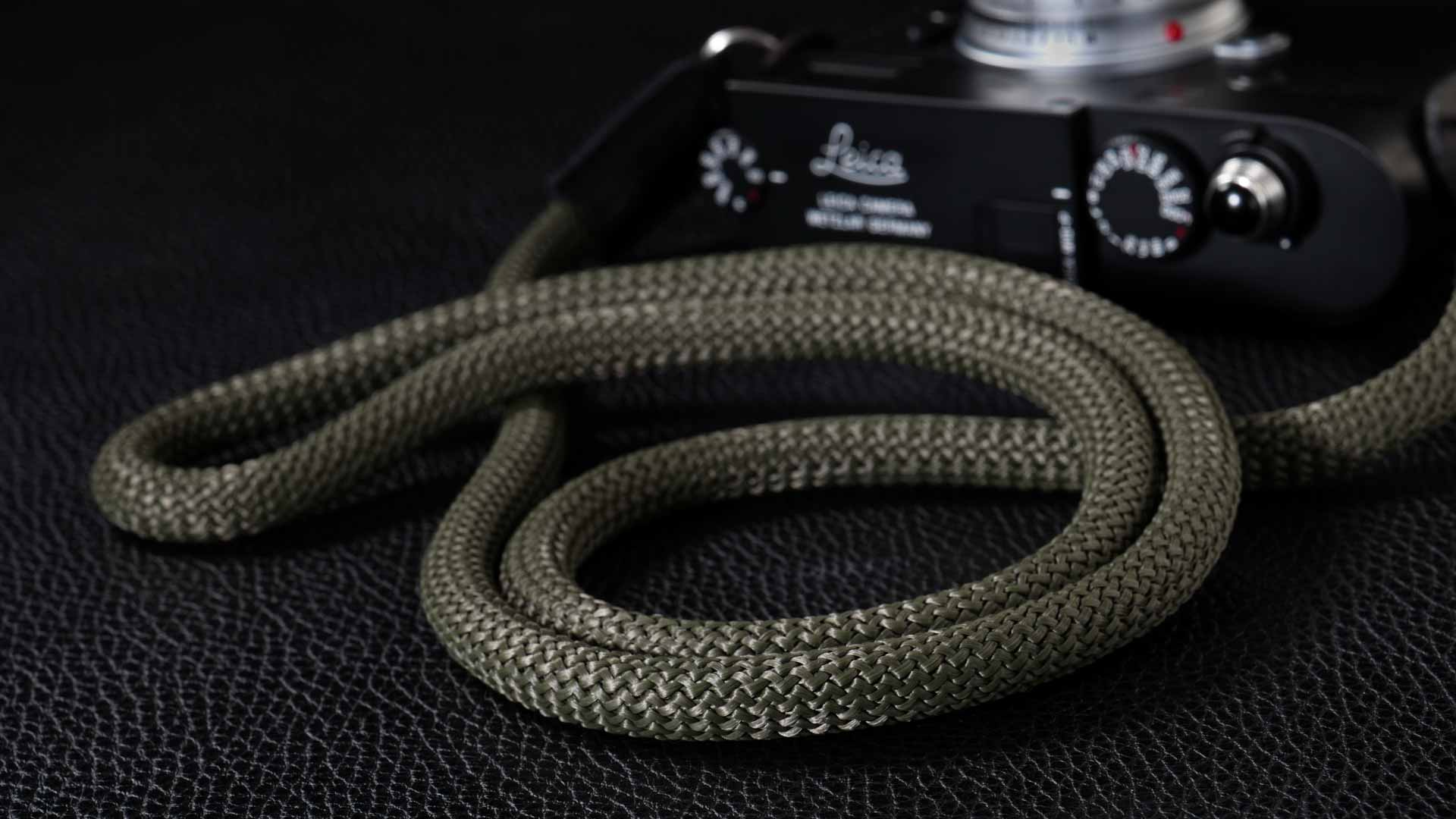 snake strap, rope strap, classic strap, rope camera strap, handmade leather camera strap, leica camera strap, mirrorless camera strap, handmade camera strap, dslr camera strap, safari camera strap