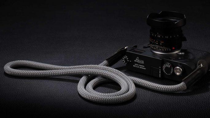 Snake Silver Grey, Rope Camera Strap