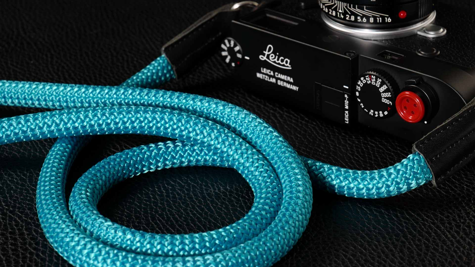 snake strap, rope strap, classic strap, rope camera strap, handmade leather camera strap, leica camera strap, mirrorless camera strap, handmade camera strap, dslr camera strap, turquoise camera strap