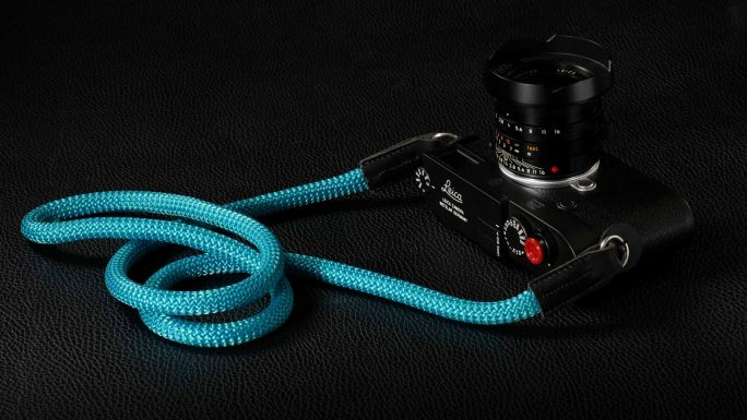 Snake Turquoise, Rope Camera Strap