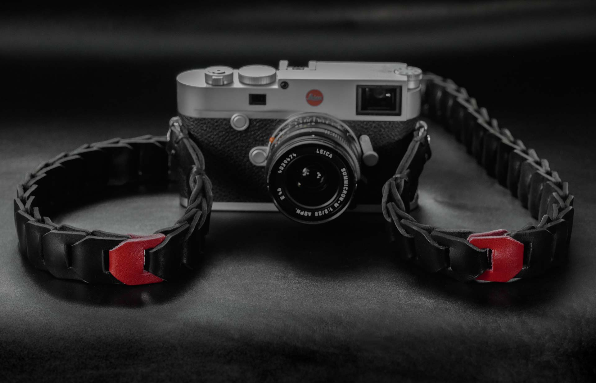 leica m strap, leather camera strap, handmade leather camera strap, leica camera strap, mirrorless camera strap, handmade camera strap, red camera strap