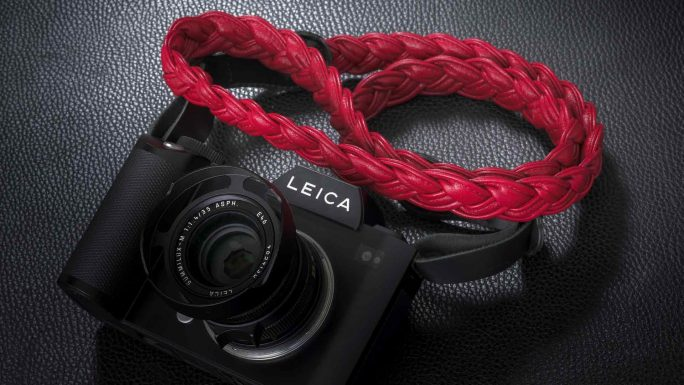 Napa SL Red Strap – For Leica SL and Leica S