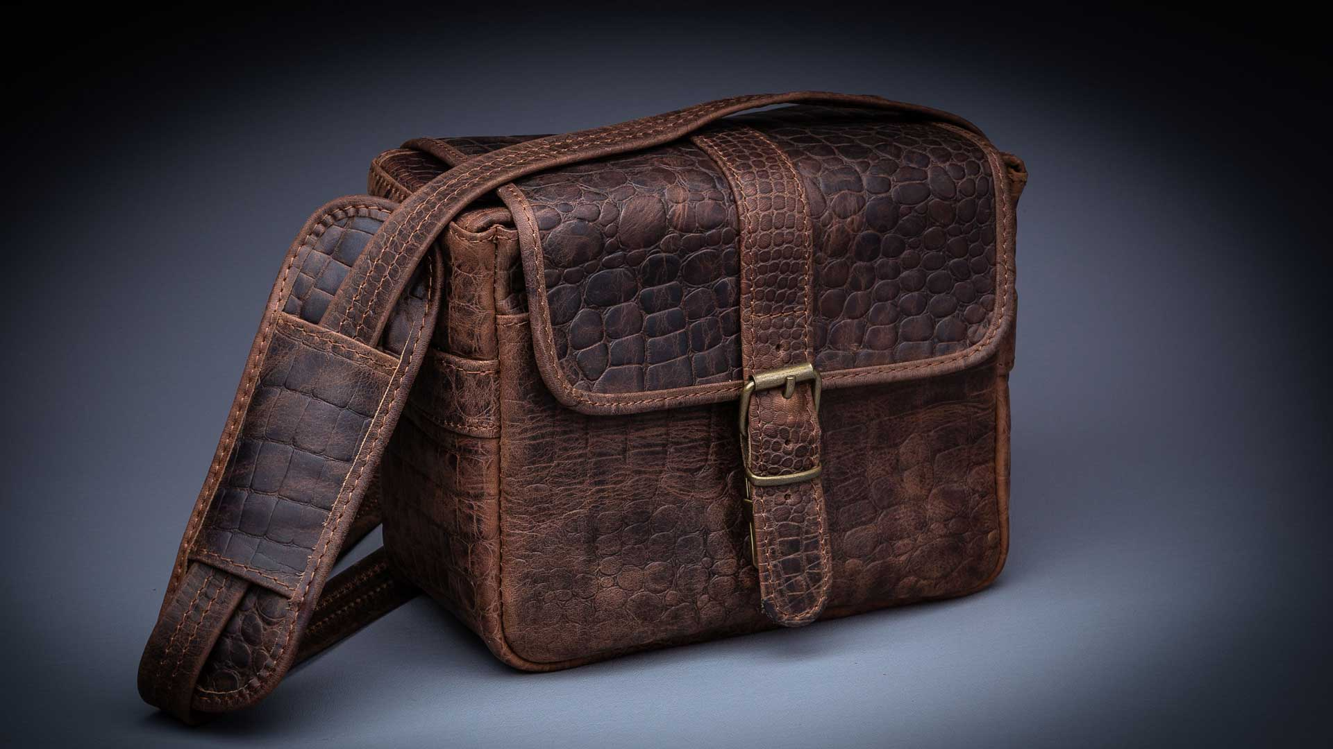 HAVANA TRAVELER, CIGAR BROWN CROC 1
