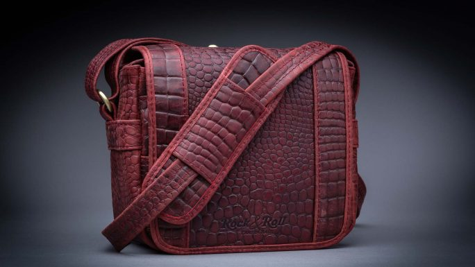 RIVIERA ROYAL RED MINI M CROC