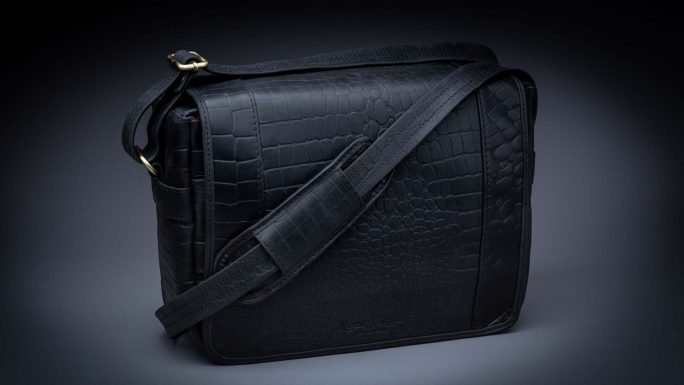 RIVIERA TRAVELER BLACK CROC